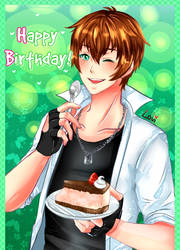 Happy birthday Kentin by SweetLovi