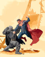 Superman Vs Batman02 by LeeBaba