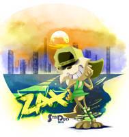 Zax n' his magical legwarmers by SynDuo