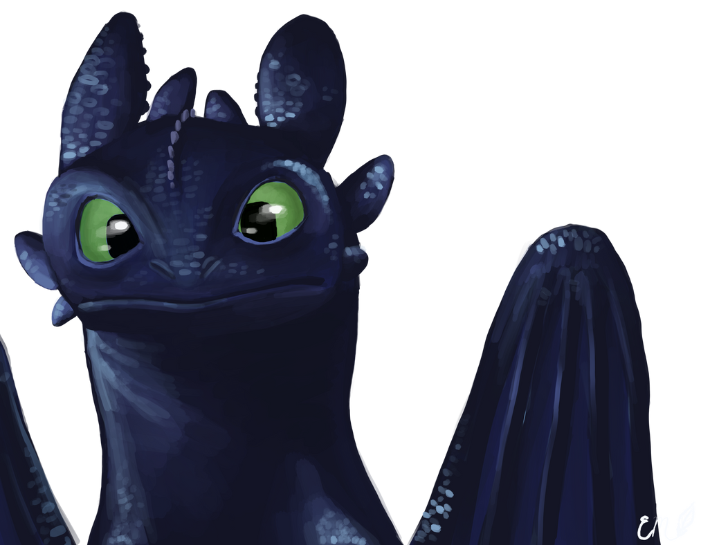 Toothless by SeaFeathers