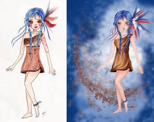 Before and After by isylia