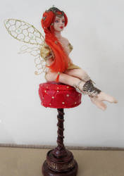 Red fairy by isylia
