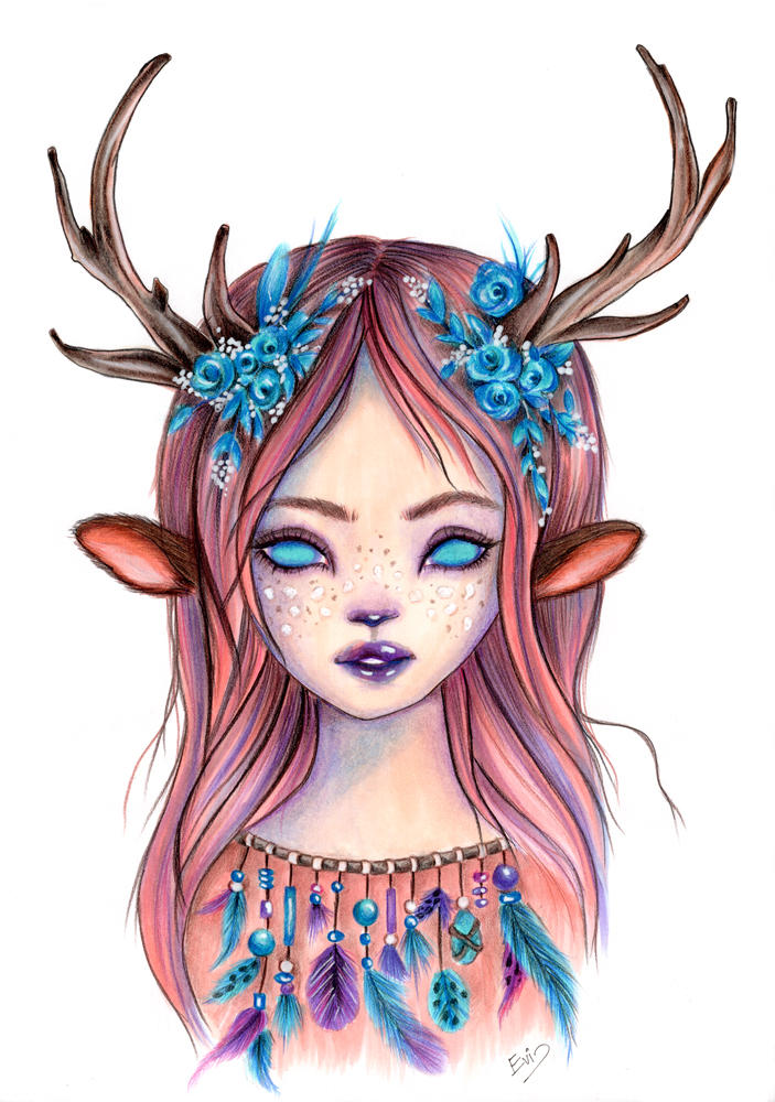 Little fawn by isylia
