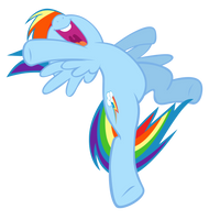 Rainbow Dash: Speed, Agility and Guts by Takua770