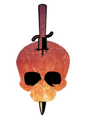 Hell Skull Graphic by TentacleBites