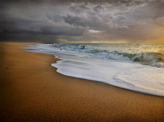 Sea and Shore Love Affair by JoseMelim