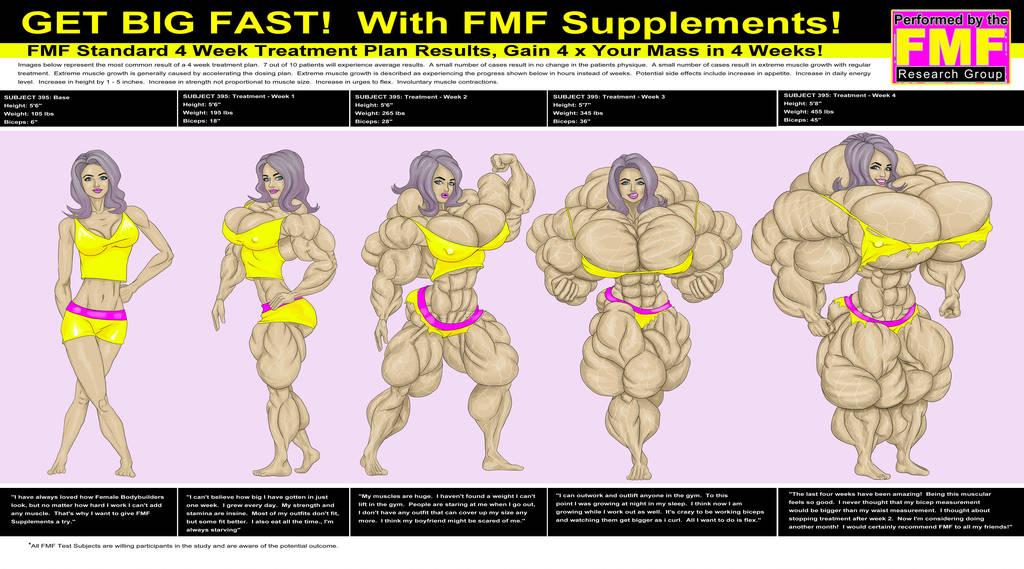 FMF 4 Week Schedule Ad by ArtofMuscle