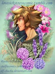 Eban Floral Portrait by Elf-chuchu