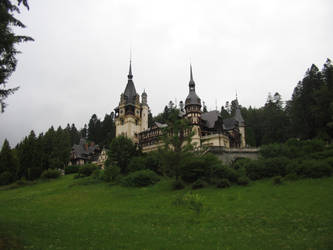 THE PELES CASTLE by andrei-gl