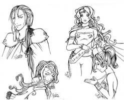 FFVI-Characters by Mahogany-Fay