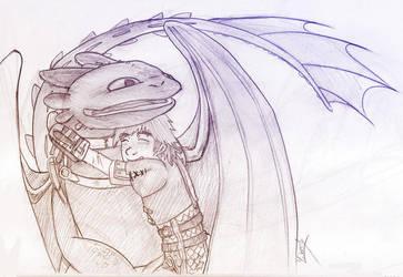 Hug your Dragon by Mahogany-Fay