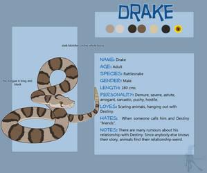 Drake Reference Sheet by faithandfreedom