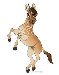 Junicorn 2017 DAY 17: Quagga by faithandfreedom