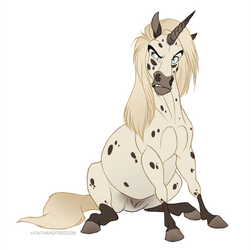 Junicorn 2017 DAY 18: Falabella by faithandfreedom