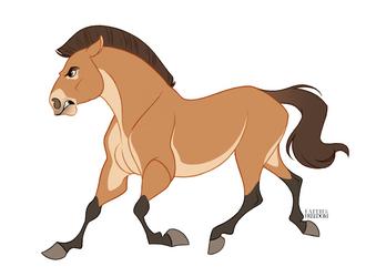 Przewalski's Horse by faithandfreedom