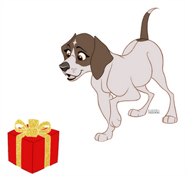 Poochember DAY 8 - German Shorthaired Pointer by faithandfreedom