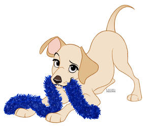 Poochember DAY 10 -  Labrador Retriever by faithandfreedom