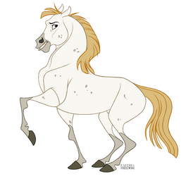 Andalusian Horse by faithandfreedom