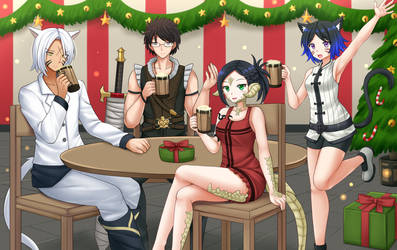 COM2018 - Christmas Party by Kazenokaze