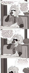 Bnha - Overhearing comic by Nara-chann