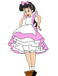 Princess Melody as Alice the Giantess by OptimusBroderick83