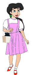 Princess Melody as Dorothy Gale by OptimusBroderick83