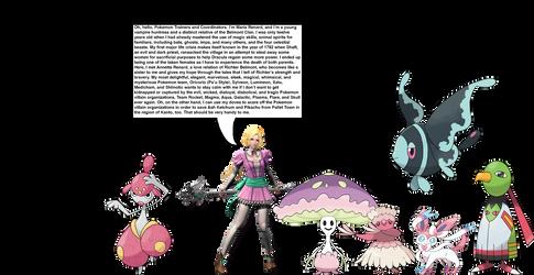Maria Renard's Pokemon team by OptimusBroderick83