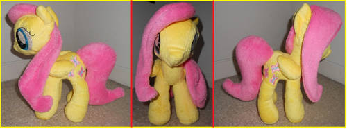 MLP: Fluttershy Plush by white7777