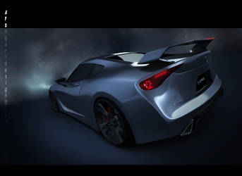 Toyota Supra Concept Rear by Nism088