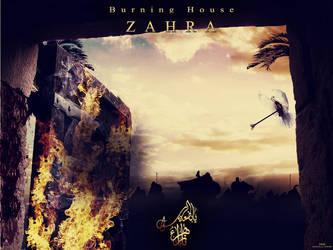 Burning House Zahra by mustafa20
