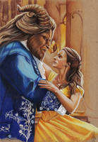 BEAUTY AND THE BEAST by ARTIEFISHEL79