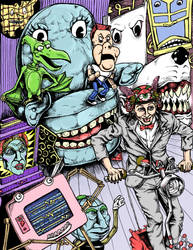 Pee Wee's Ragehouse by Alex-Cooper