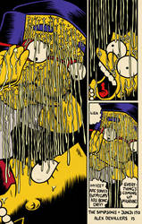 Simpsons + Junji Ito by Alex-Cooper