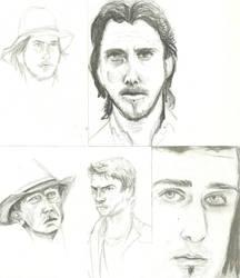 Sketches 1 by missskywalker