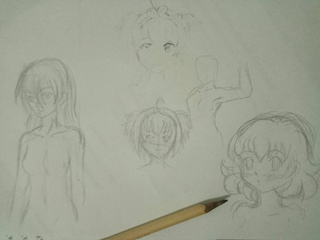 Random Sketches by riockman