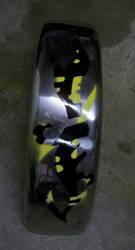 Custom Fenders - Spray Paint by Darklinkkyle
