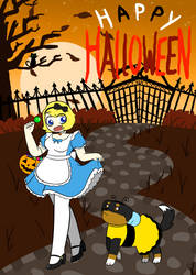 Happy Halloween 2018 by Emism