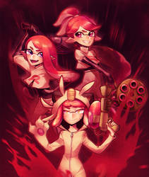 Team Red by Sylvaur