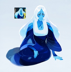 Blue diamond by Sylvaur