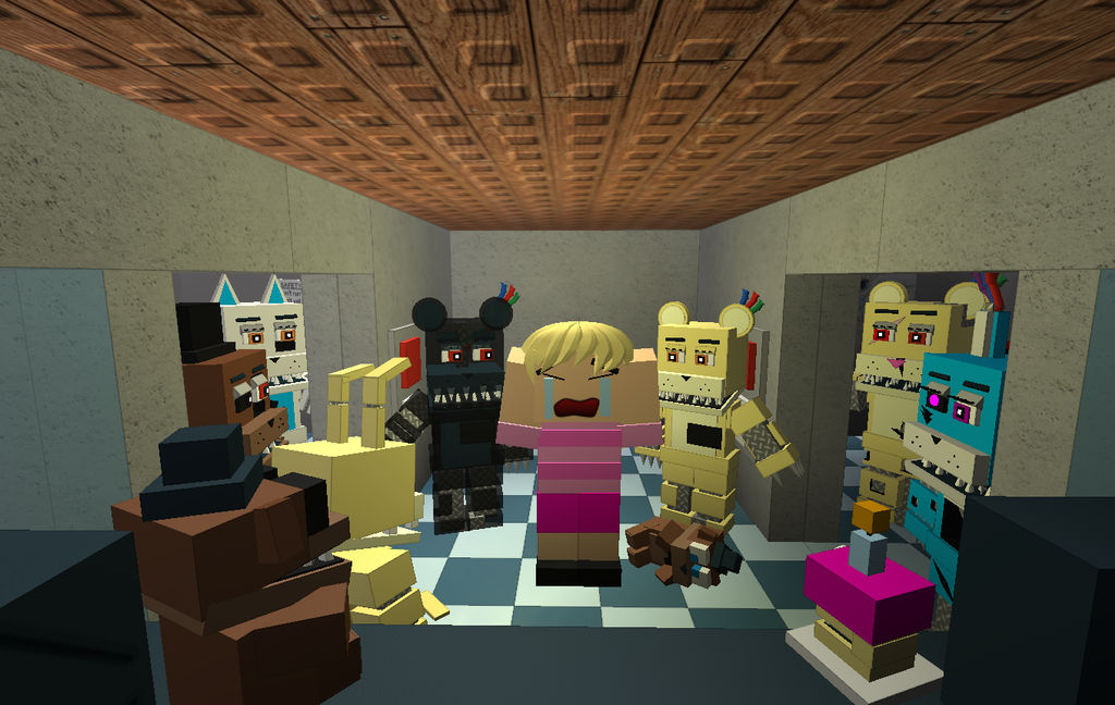 Break My Mind Five Nights At Kellies 4 Roblox By Frostwing6789