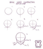 Anime Head Tutorial by Steam-bunny