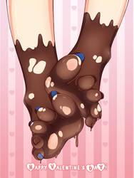 Chocolate Feet by Lululewd