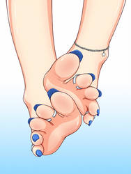 Mysterious Feet by Lululewd