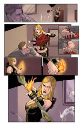 Robyn Hood Issue 5 Page 27 colors by Saraquael