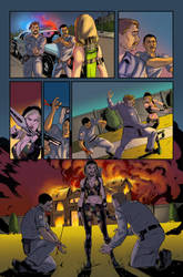 Robyn Hood Issue 5 Page 29 Colors by Saraquael