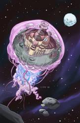 Jellyfish kingdom by Saraquael