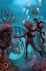 Divers Colored by Saraquael