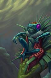 Frog Prince by Saraquael