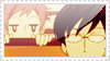 Kaoru and Kyoya stamp by wallabby