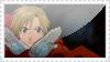 Alphonse stamp by wallabby